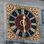 Clock On The Hamburg City Hall — Stock Photo #1127767