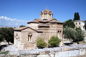 Byzantium Church In Athens — Stock Photo