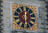 Clock On The Hamburg City Hall — Stock Photo