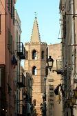 Streets of Alghero, Sardinia — Stock Photo