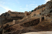 Acrocorinth Fortifications — Stock Photo