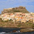 Kastelsardo Town, Sardinia - Stock Photo