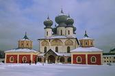 Russian Orthodox Monastery — Stock Photo
