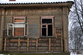 Abandoned Wooden House — Stock Photo