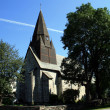 Stock Photo: Old church in Voss