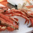 Crab On The Fish Market — Stock Photo