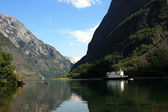 Famous Norwegian Fjord — Stock Photo