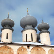 Roofs Of Russain Orthodox Church - Stock Photo