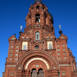 Stock Photo: Red Brick RussiChurch