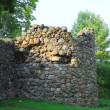 Ruins of medieval tower — Stock Photo