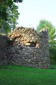 Ruinerna av medeltida tornet — Stockfoto