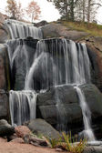 Waterfall In Finland — Stock Photo