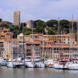 Stock Photo: Cannes, Fortress and Harbor