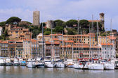 Cannes, Fortress and Harbor — Stock Photo