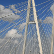 Royalty-Free Stock Photo: Cable-Stayed Bridge