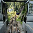 Cable railway cabin — Stock Photo