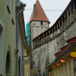 Street of old Tallinn - Stock Photo