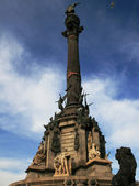 Columbus Monument in Barcelona — Stock Photo