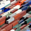 Containers in the harbor — Stock Photo