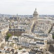 Aerial view on Paris — Stock Photo