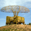 Stock Photo: Military radar