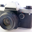 Stock Photo: Old SLR camera