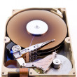Stock Photo: Hard disk without cover
