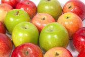 Jablka skupina — Stock fotografie