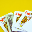 Stock Photo: Deck of playing cards