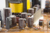Electronic components — Foto Stock