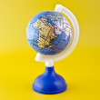 Stock Photo: Africon toy globe