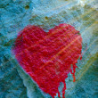 Stock Photo: Graffiti heart