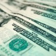 Stock Photo: Dollar banknotes