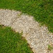 Footway in garden — Stock Photo #1183022