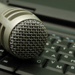Stock Photo: Dynamic microphone