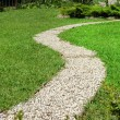 Footway in garden — Stock Photo #1183511