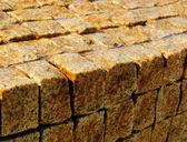 Block wall — Stock Photo