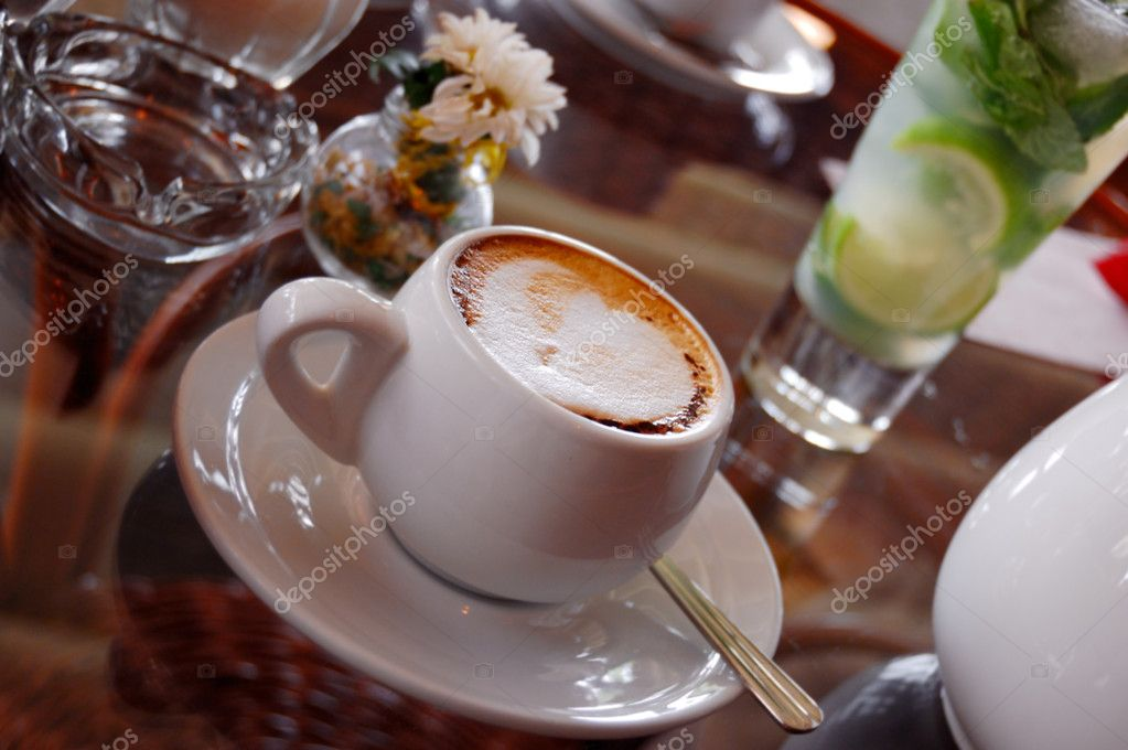 Coffee in a cup — Stock Photo #1208578