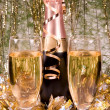 Champagne and New year — Stock Photo #1030505