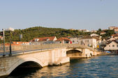 Croatia. Old bridge — Stock Photo