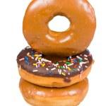 Постер, плакат: Stack of glazed donuts