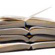 Royalty-Free Stock Photo: Heap of the opened books