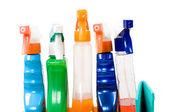 Conjunto de aerosoles para la limpieza. — Foto de Stock