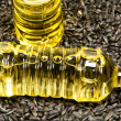 Sunflower-seed oil. — Stock Photo