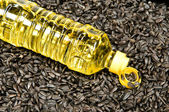Sunflower-seed oil — 图库照片