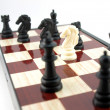 Conceptual composition from chess — Stock Photo