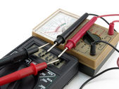Two multimeters — Stock Photo
