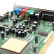 Stock Photo: Sound card