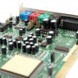 Sound card — Stock Photo