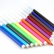 Set of color felt-tip pens — Stock Photo
